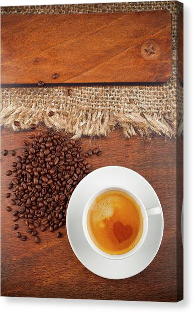 Coffee Canvas Print