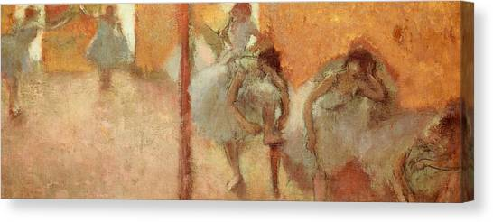 Careers Canvas Print - Dancers by Edgar Degas