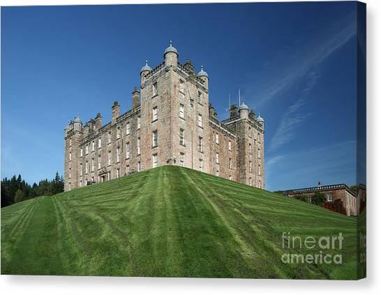Drumlanrig Castle Canvas Print by Maria Gaellman