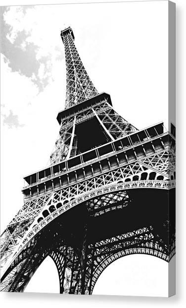Monument Canvas Print - Eiffel Tower by Elena Elisseeva