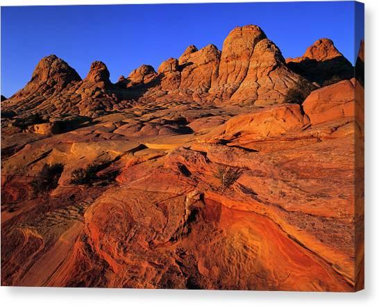 Arizona Coyotes Canvas Print - Fantastic Lunar Landscape by Jerry Ginsberg