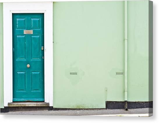 Door Canvas Print - Front Door by Tom Gowanlock