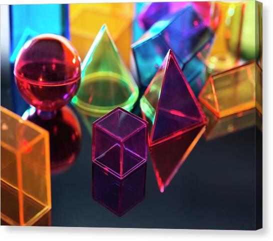 Geometric Shapes Canvas Print by Tek Image