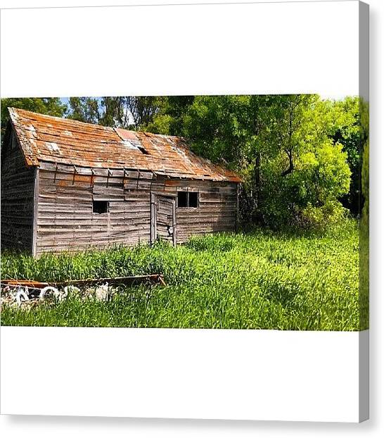 Barns Canvas Print - Instagram Photo by Aaron Kremer
