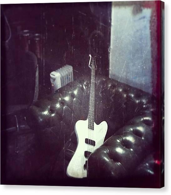 Bass Guitars Canvas Print - Instagram Photo by Pink Dark Boi