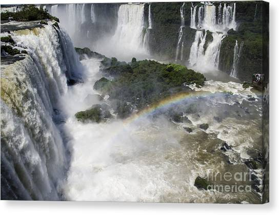 Iguazu Falls Canvas Print - Iquazu Falls - South America by Jon Berghoff