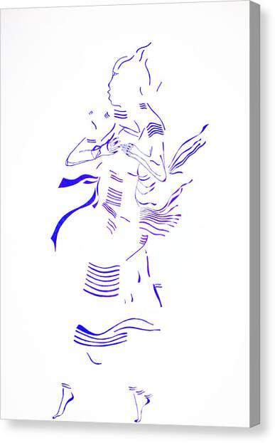 Gloria Canvas Print - Kiganda Dance- Uganda by Gloria Ssali