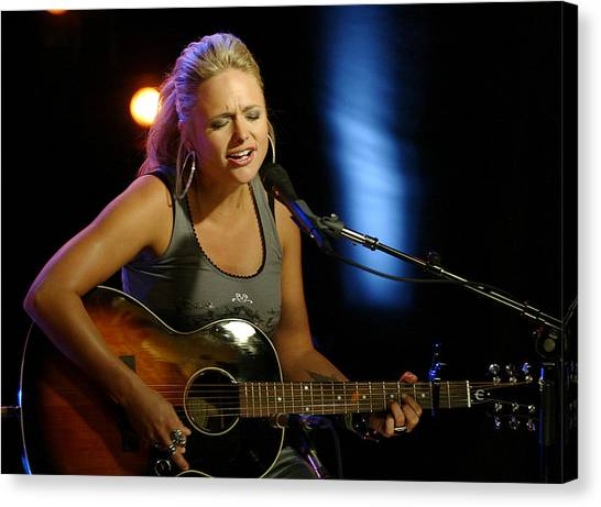 Miranda Lambert Canvas Print by Don Olea