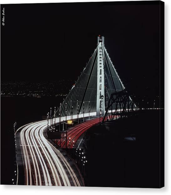 Oakland Bridge Canvas Print