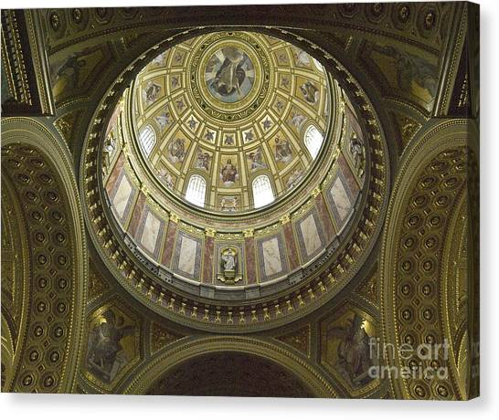 The Interior Of The Church Canvas Print