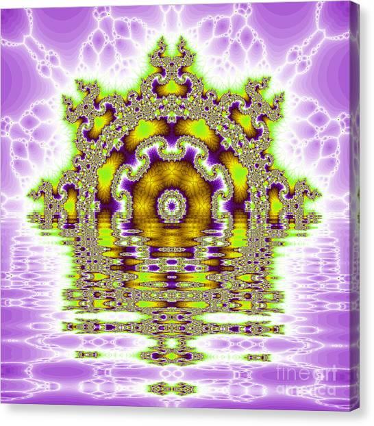 The Kaleidoscope Reflections Canvas Print by Odon Czintos