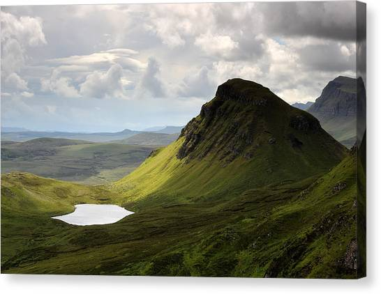 The Quiraing Canvas Print