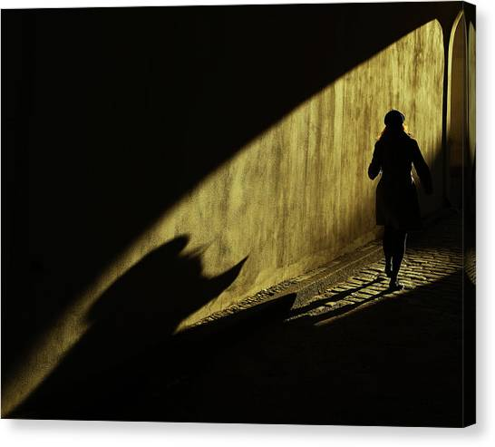 Tunnels Canvas Print - Untitled by Anna Niemiec
