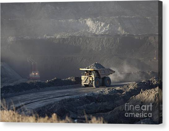Wyoming Coal Mine Canvas Print
