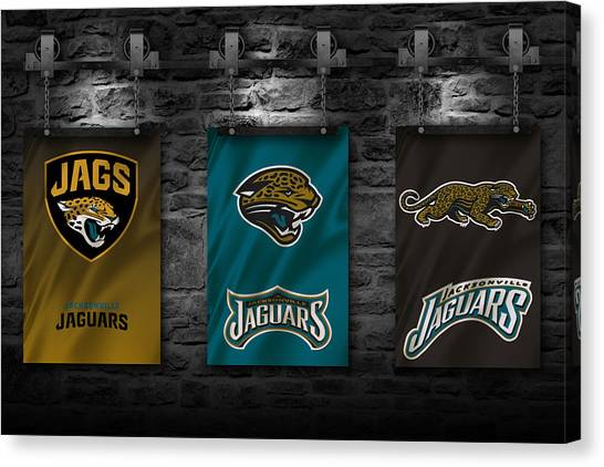 Jacksonville Jaguars Canvas Print - Jacksonville Jaguars by Joe Hamilton