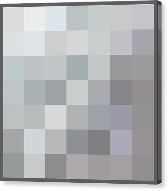 50 Shades Of Grey Canvas Print