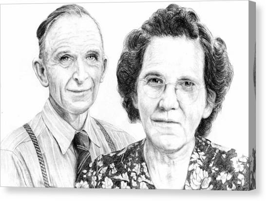 50th Anniversary Canvas Print