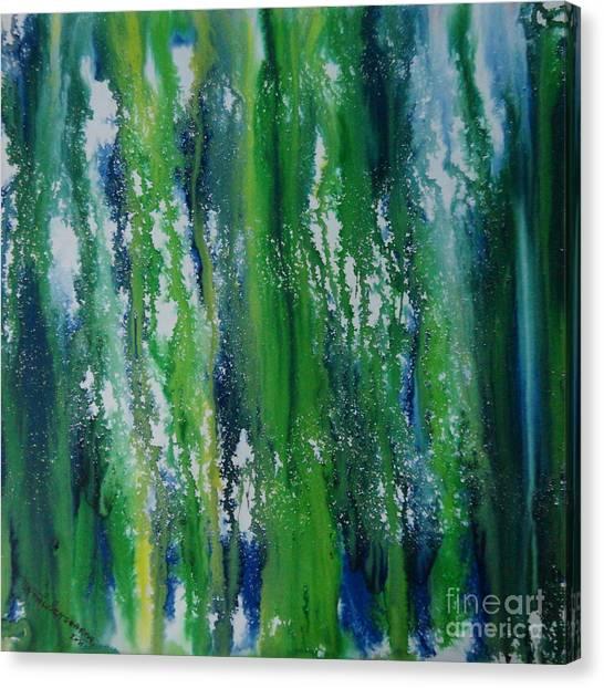Greenery Duars Canvas Print
