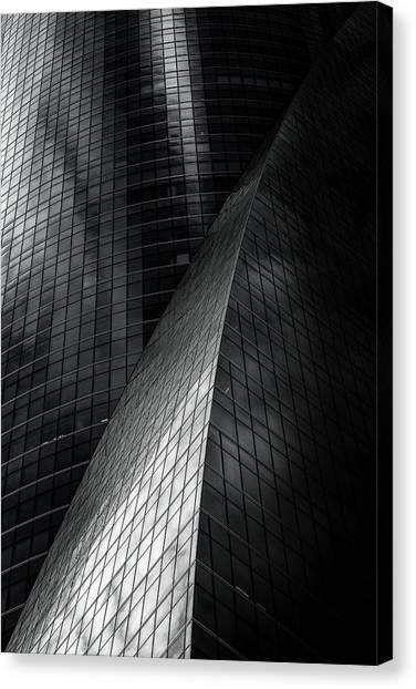 Skyscrapers Canvas Print - 5134 by Enrique Izquierdo