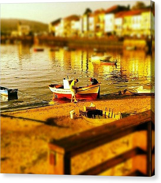 Fishing Boats Canvas Print - Instagram Photo by Ian James