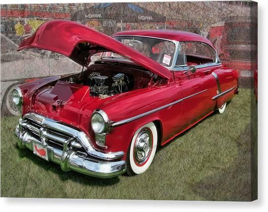 '52 Oldsmobile Canvas Print