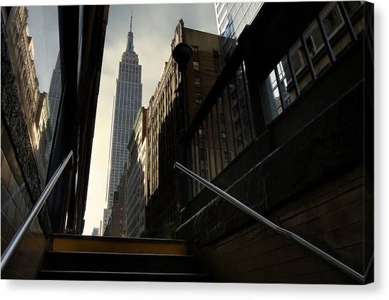 Manhattan Canvas Print - 53th Avenue by Sebastien Del Grosso