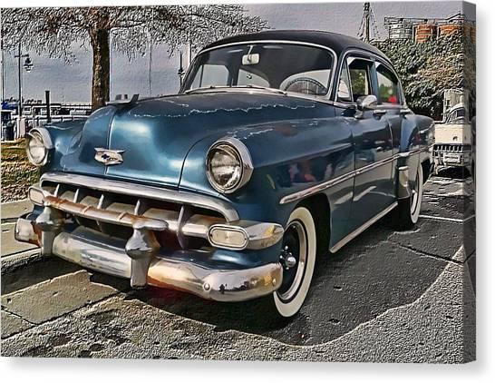 '54 Chevy Canvas Print