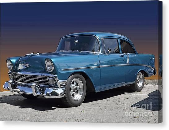 56 Chevy Canvas Print
