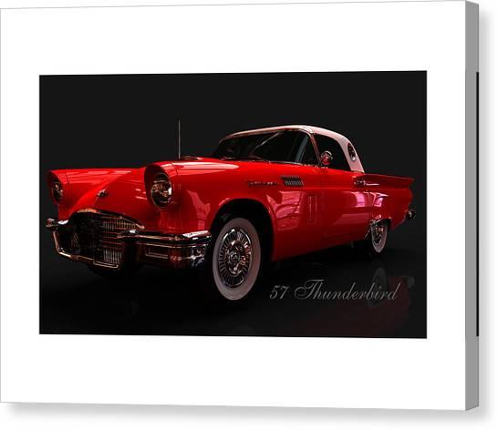 57 Thunderbird Canvas Print
