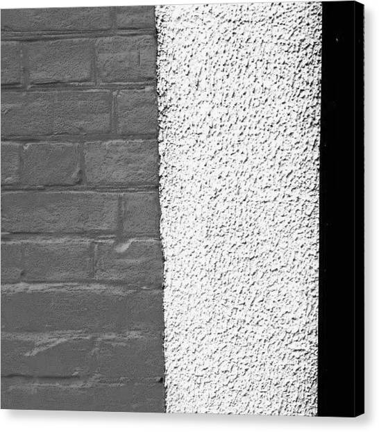 Abstract Canvas Print - Urban Wall 6 by Jason Michael Roust