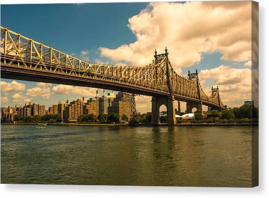 59th Street Bridge Ny Canvas Print