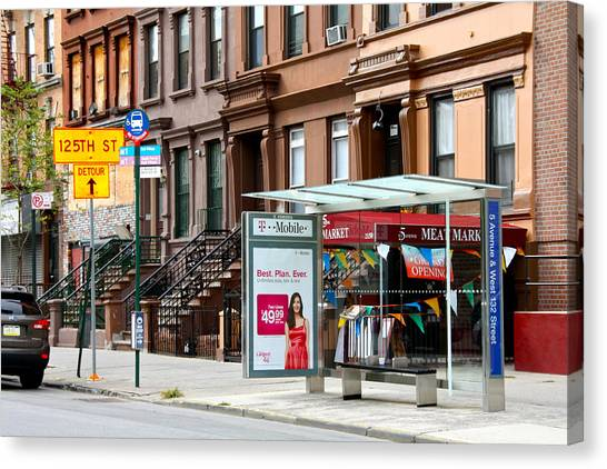 5th Ave And West 132nd Street Canvas Print