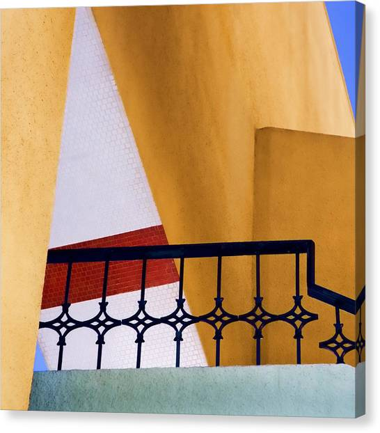 Architectural Detail Canvas Print - Architectural Detail by Carol Leigh