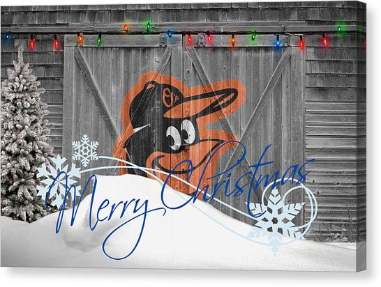 Orioles Canvas Print - Baltimore Orioles by Joe Hamilton