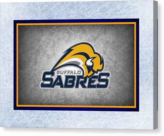 Buffalo Sabres Canvas Print - Buffalo Sabres by Joe Hamilton