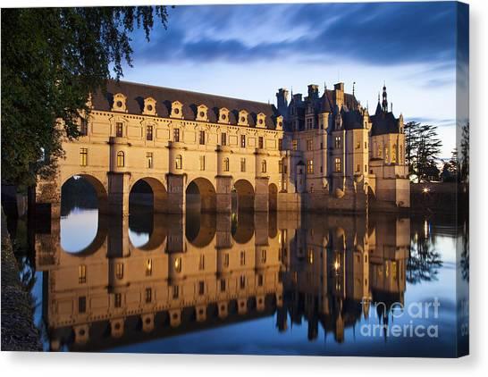 Chenonceau Castle Canvas Print - Chateau Chenonceau by Brian Jannsen