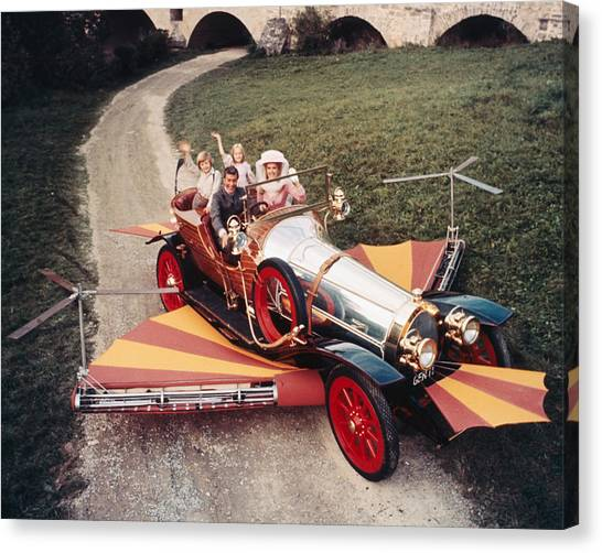 Heather Canvas Print - Chitty Chitty Bang Bang  by Silver Screen