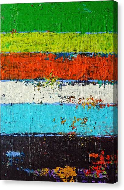 6 Colores Canvas Print