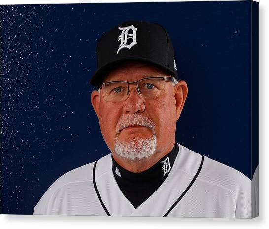 Detroit Tigers Photo Day Canvas Print by Kevin C. Cox