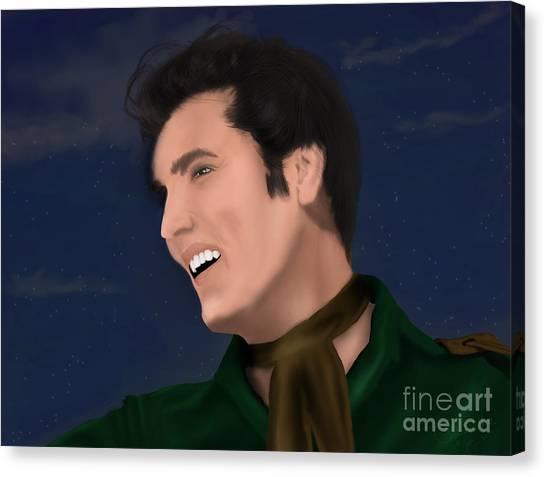 Elvis Presley    Loving You Canvas Print