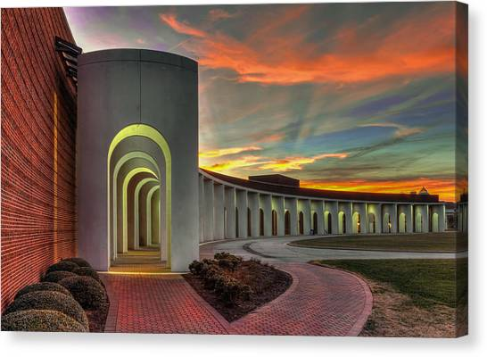 Ferguson Center For The Arts Canvas Print