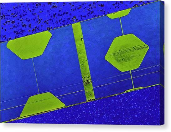 Computer Science Canvas Print - Floppy Disk Read-write Head by Antonio Romero/science Photo Library