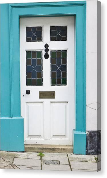 Brick House Canvas Print - Front Door by Tom Gowanlock