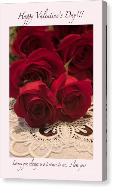 Happy Valentine's Day #3 Canvas Print