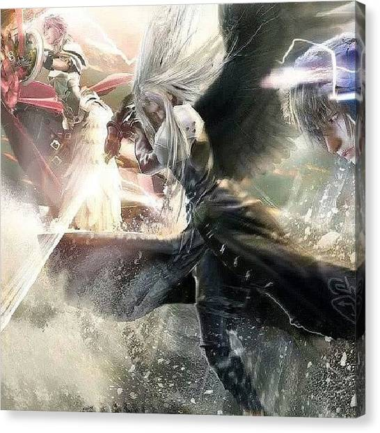 Final Fantasy Canvas Print - Instagram Photo by Kusabi Wong