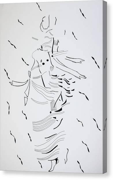 Gloria Canvas Print - Kiganda Dance - Uganda by Gloria Ssali