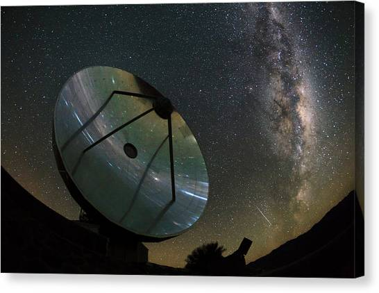 La Galaxy Canvas Print - Milky Way Over La Silla Observatory by Babak Tafreshi