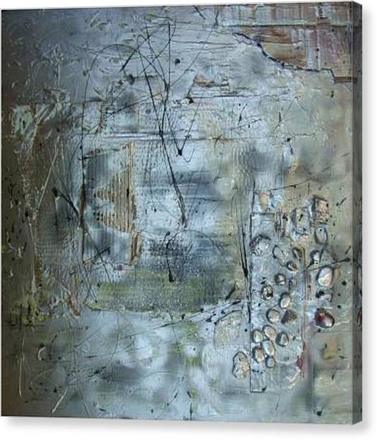 .........mixed Media........ Canvas Print by Wiola Anyz