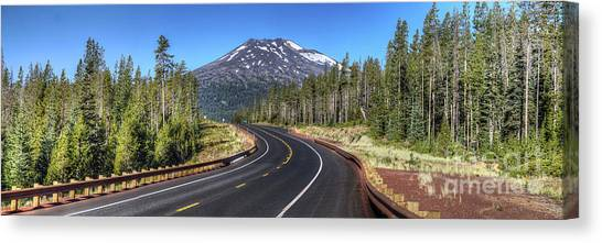 Bachelor Canvas Print - Mount Bachelor by Twenty Two North Photography