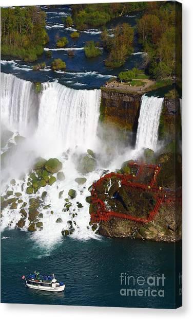 Niagara Falls New York Canvas Print